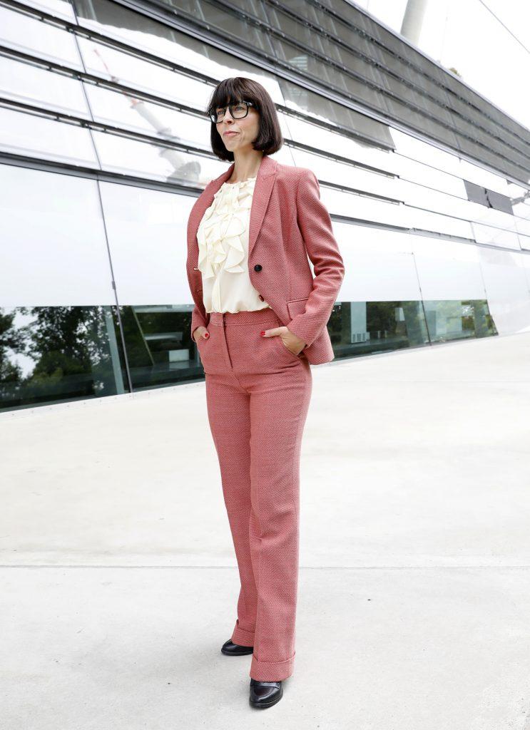 Business Dresscode Damen Hosenanzug