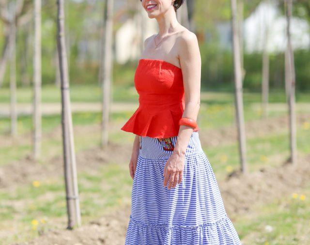 Modetrend 2020: Der Carmen Rock ist der romantische Trend für den Sommer